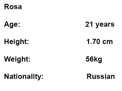 russian escort rosa info